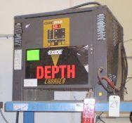 Exide Gold 24-Volt Model D3G-12-850 Electric Battery Charger
