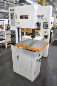 """Jet Model VBS-1408, 14"""" Vertical Contour Metal Cutting Band Saw, S/n 5111484, 19 3/4"""" x 19 3/4"""" Work"""