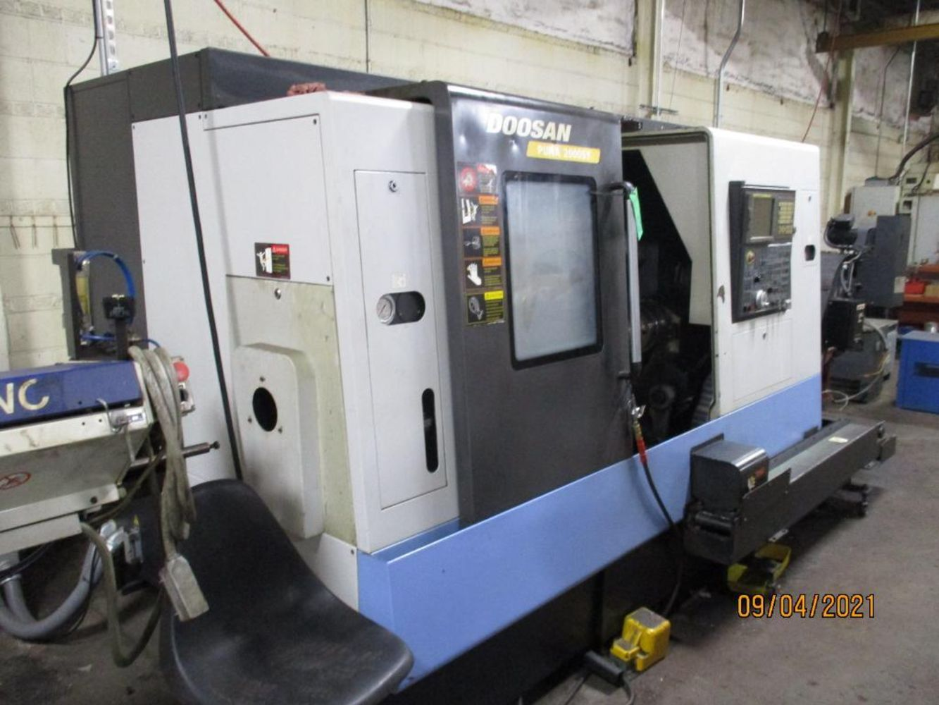 Milwest Precision Machining Inc. Complete Plant Auction * Samsung SMEC 5 Axis Twin Spindle CNC Lathe, Citizen CNC Swiss Machines, Miyano, DoAll