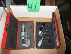 Starrett And SPI Digital Micrometers