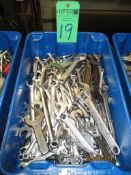 Various Size Small And Medium Wrenches