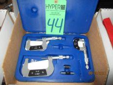Set Of Three Aerospace Micrometers
