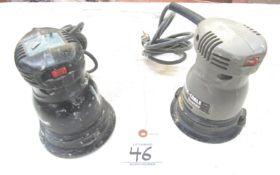 "(2) Porter-Cable Mod.333 5"" Random Orbital Sander"