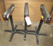 """(3) 15"""" Adjustable Roller Stands"""