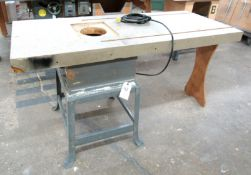 Shop Made Router Table