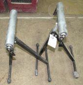 """(2) 12"""" Adjustable Roller Stands"""