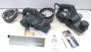 "(2) Bosch 3-1/4"" Power Wood Planers"