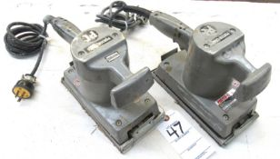 "(2) Porter-Cable Mod.505 1/2"" Heavy Duty Finishing Sander"