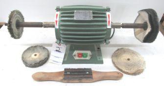 Caswell Type DOP-80 Dbl.End 1/3HP Buffer/Polisher