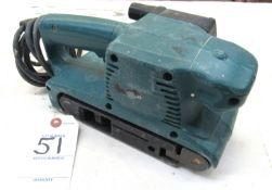"""Makita Mod.9910 3""""x18"""" Belt Sander"""
