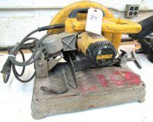 """14"""" DeWalt Mod.28715 Abrasive Cut Off Saw"""