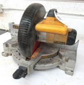 "10"" DeWalt Mod.DW713 Single Bevel Sliding Compound Miter Saw"