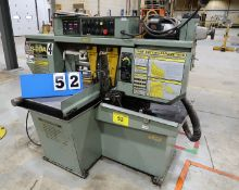 HYD-MECH S-20A AUTOMATIC HORIZONTAL BANDSAW, 20 IN. X 20 IN. CAPACITY, 20 IN. ROUNDS, AUTO FEED