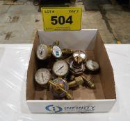 3 OXY ACET PRESSURE REGULATORS