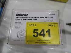 (NEW) NEIKO 3/8 IN. COMPOSITE AIR DRILL