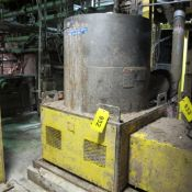 BLACK CLAWSON UV-200 TERTIARY FINE SCREEN CASING (WEST BUILDING, UPPER LEVEL, PAPER MACHIN AREA,