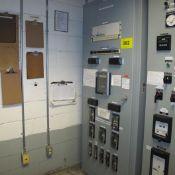 VIRELEX UTILITY INTERFACE MCC PANEL, S/N DC9601, 125V, SINGLE PHASE, 115V/3-PHASE, 115V AC 60HZ