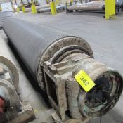 """APPROX. 209""""L X 36"""" DIA. ROLLER IN HOUSINGS (EAST BUILDING, SOUTH WAREHOUSE)"""