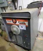 LINCOLN IDEALARC TM-500 AC ARC WELDER, S/N 109316 (RIGGING FEE $80)