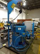 KINE-SPIN MODEL 401-EXP FLUID EXTRACTOR SYSTEM SKID MOUNTED, 3/60/575 VOLTS, S/N 4010328-EXP (