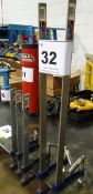 """LOT OF (5) MASTERCRAFT 12"""" - 24"""" BAR CLAMPS (RIGGING FEE $35)"""