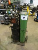 O/A CART C/W GAUGES (NO TORCH OR CYLINDERS) (RIGGING FEE $10)