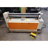 """2013 SAMPSON MR416E 48"""" POWERED PLATE ROLLS, S/N 1618213, 575V"""