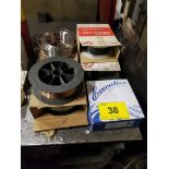 LOT OF ASSORTED 035 WELDING WIRE (6 BOXES)