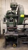 NIAGARA A3-1/2 PUNCH PRESS W/DIE FOR CHOPPING/FORMING GRATE BARS