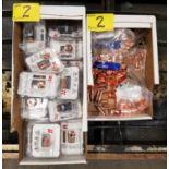 LOT - PLASMA NOZZLES, ELECTRODES, SHIELDS, RETAINING CAPS, ETC.