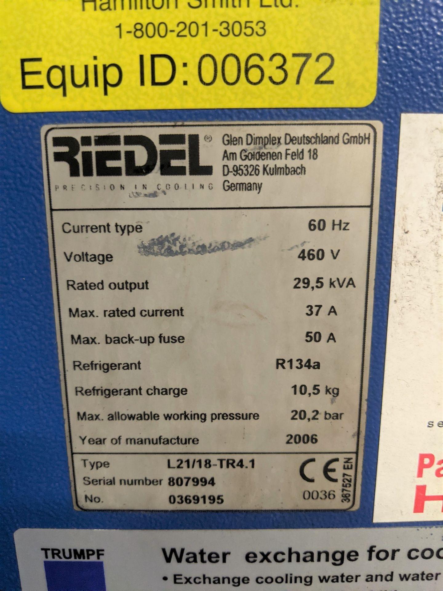 "2006 TRUMPF TRUMATIC L 2510 CNC LASER, 2,000 WATT, 4' X 10' TABLE, TRAVELS: X-120"", Y-50"", Z- - Image 28 of 32"