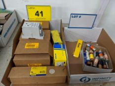 LOT SQUARE D BUSSBARS AND FUSES