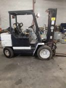 CLARK GP530S PROPANE FORKLIFT, 5,000LB CAP., 3-STAGE MAST, SIDE SHIFT, APPROX. 2,413HRS (NO
