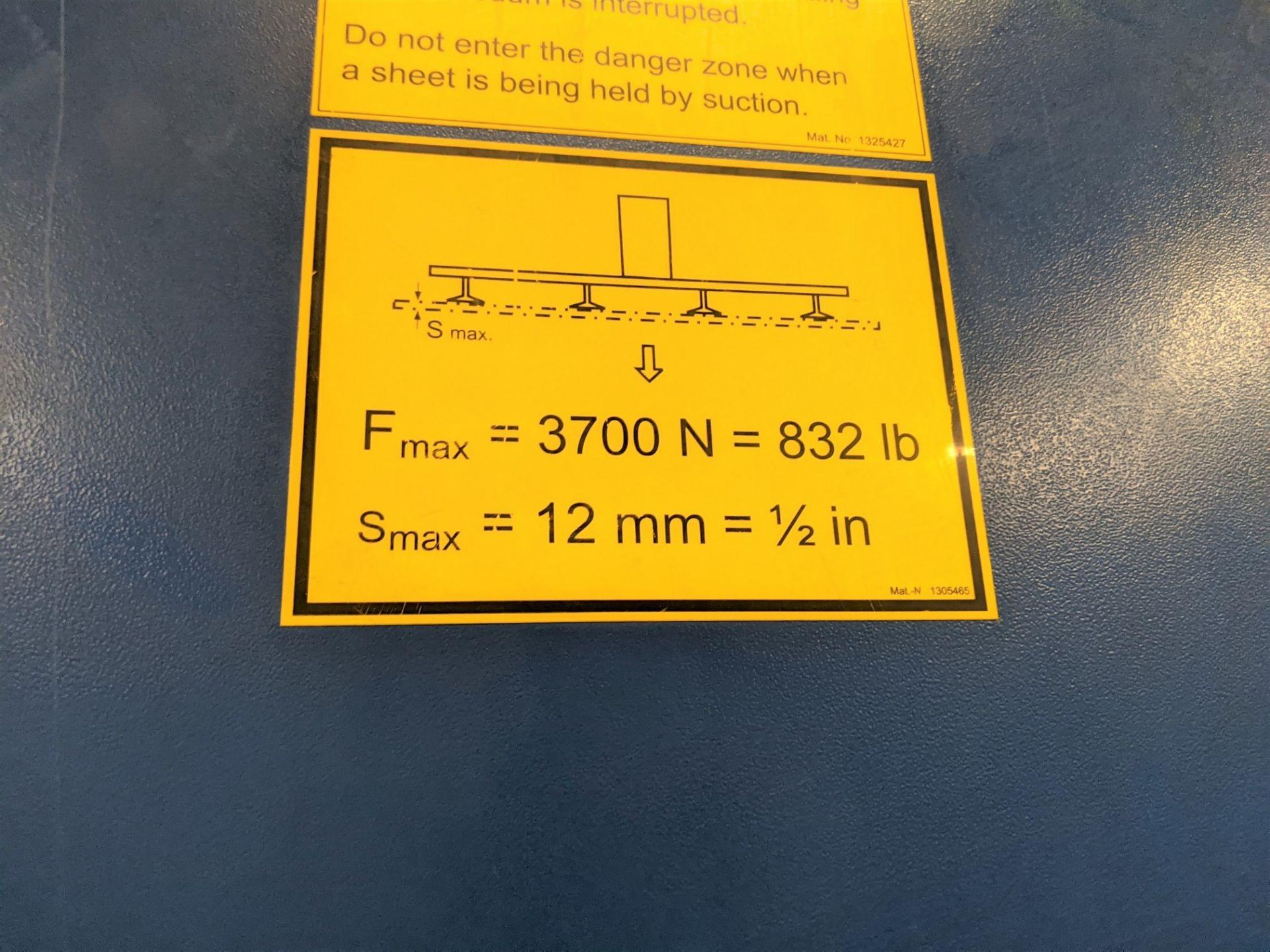 "2006 TRUMPF TRUMATIC L 2510 CNC LASER, 2,000 WATT, 4' X 10' TABLE, TRAVELS: X-120"", Y-50"", Z- - Image 25 of 32"