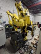 FANUC S-420IF ROBOT W/ FANUC SYSTEM R-J2 CONTROLLER, TYPE A05B-2350-B003, S/N E96902609 W/ PENDANT