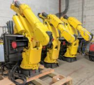(3) FANUC S-420 iF Robots w/ R-J2 Robot Controllers