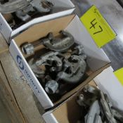"""LOT OF (2) 1-3"""" RIDGID PIPE CUTTERS, AND (2) RIDGID 5/8 TO 2-1/8"""" PIPE CUTTERS"""