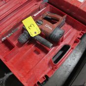 HILTI TE-A18 CORDLESS POWER DRILL W/ CASE (NEEDS BATTERY & CHARGER)