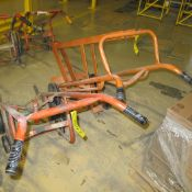 LOT OF (1) CORE DOLLY AND (1) BARREL DOLLY (NORTH PLANT, MACHINE SHOP ENTRANCE)