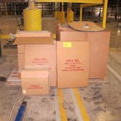 LOT OF NEW V.M.I. WAREHOUSE MIRRORS ON PALLET (VARIOUS STYLES) (WEST CENTER PLANT)