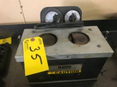 K-LINE THERM-FIT PIN FURNACE MODEL 1027, S/N 06-98