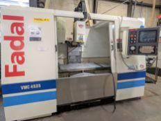 "2003 FADAL VMC4525 HT CNC VERTICAL MACHINING CENTER, FADAL MULTI PROCESSOR CNC CONTROL, 25"" X 45"""