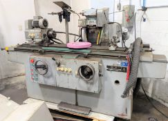 """TOS BU28-1000 CYLINDRICAL GRINDER W/ I.D. & O.D. ATTACHMENTS, 5"""" 3-JAW CHUCK, 48"""" BED, S/N 68742"""