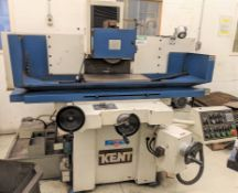 """KENT KGS-83AHD AUTOMATIC HYDRAULIC SURFACE GRINDER, 12"""" X 24"""" MAGNETIC SURFACE PLATE, DRESSER, S/N"""