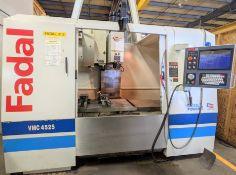 "2004 FADAL VMC4525 HT CNC VERTICAL MACHINING CENTER, FADAL MULTI PROCESSOR CNC CONTROL, 25"" X 45"""