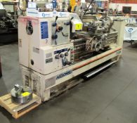 """MICROWEILYMODEL TY-2060 ENGINE LATHE, DRO, 20"""" MAX CUT DIA., 60"""" BED, 12"""" 3-JAW CHUCK, 3-½"""" BORE,"""