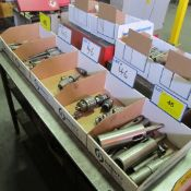 LOT OF (5) BOXES OF TOOL HOLDERS, CHUCKS, TOPMATIC REVERSABLE TAPPING ATTACHMENT & TOOLING