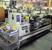 "MICROWEILYMODEL TY-2060 ENGINE LATHE, HEIDENHAIN 2-AXIX DRO, 20"" MAX CUT DIA., 60"" BED TAILSTOCK,"