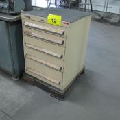 KENNEDY 5 DRAWER TOOL CABINET W/LATHE TOOLING