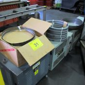 """LOT OF (2) CASES OF STARRETT 1-1/4""""D X 12'3"""" BANDSAW BLADES (APPROX 12)"""